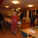 Ingrid Persson talar vid nystartade djurskyddsföreningen Faunas firande av Djurens Dag